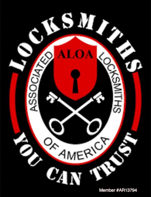 ALOA Logo for Professional Locksmiths